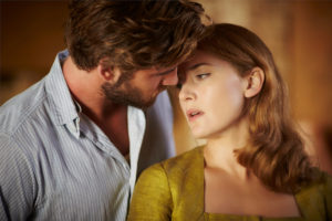 Movie Still: The Dressmaker - Liam Hemsworth and Kate Winslet