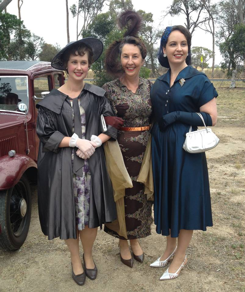 Rosalie Ham - All frocked up on the set of 'The Dressmaker'